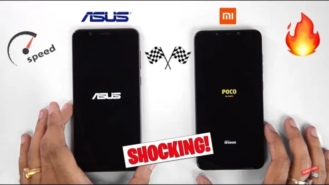 POCO F1 vs 6GB ASUS ZENFONE MAX PRO M1 SHOCKING RESULTS!!!