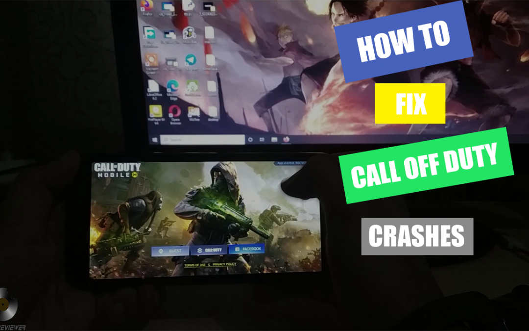 FIX CALL OF DUTY MOBILE GAME-PLAY CRASH AFTER 1.0.15 UPDATE